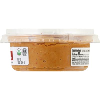 O Organics Hummus, Organic, Roasted Red Pepper
