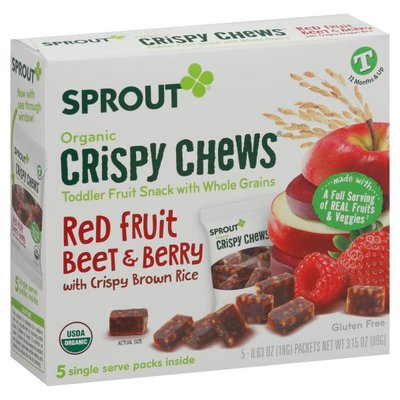 Sprout Fruit Snack, Organic, Red Fruit Beet & Berry