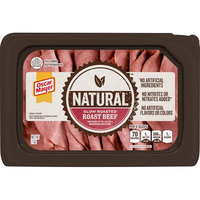Oscar Mayer Slow Roasted Roast Beef Sliced Lunch Meat