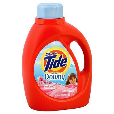 Tide Detergent, 2X Ultra, April Fresh
