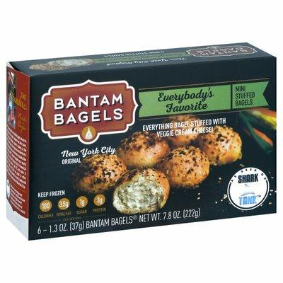 Bantam Bagels Bantam Bagels Mini Stuffed Bagels Everybody's Favorite