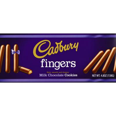 Cadbury Cookies, Fingers, Milk Chocolate