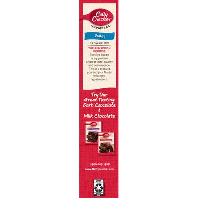 Betty Crocker Brownie Mix, Fudge