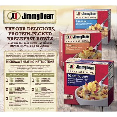 Jimmy Dean Frozen Sausage, Egg & Cheese Biscuit Breakfast Sandwich