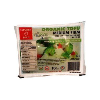 Superior Tofu Organic Medium Firm Tofu