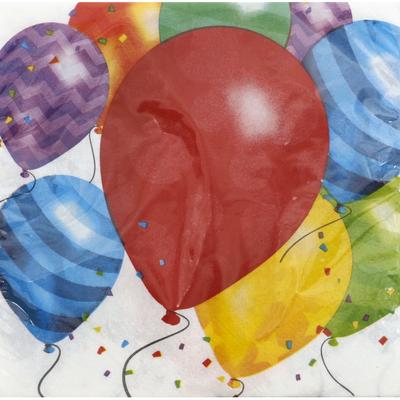 Party Creations Napkins, Balloon Blast, 2 Ply
