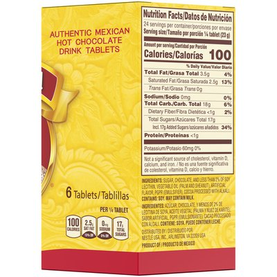 Abuelita Nestle  Mexican Hot Chocolate Tablets