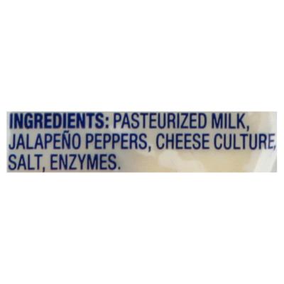 Crystal Farms Cheese Slices, Pepper Jack, Medium