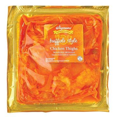 Wegmans Food You Feel Good About Boneless Skinless Buffalo Style Chicken Thighs