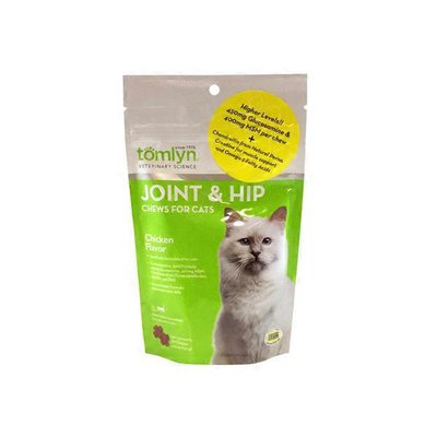 Tomlyn Veterinary Science Joint and Hip Chews for Cats