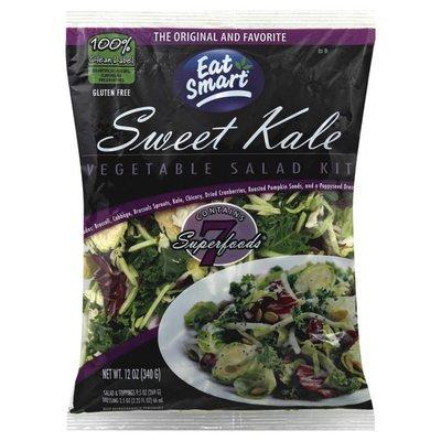 Eat Smart Vegetable Salad Kit, Sweet Kale