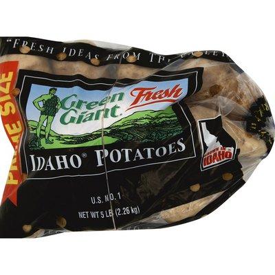 Green Giant Potatoes, Idaho, Prime Size