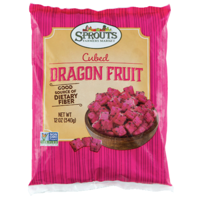 Sprouts Cubed Dragon Fruit