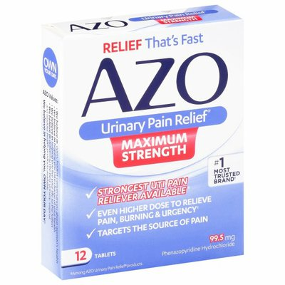Azo Urinary Pain Relief Max Strength
