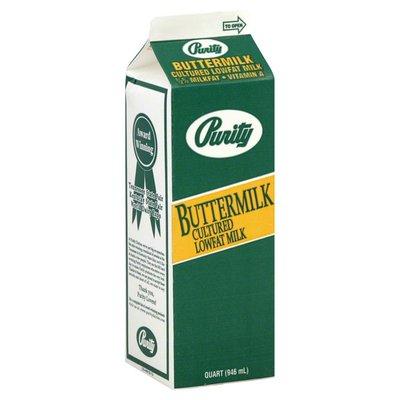 Purity Buttermilk, Cultured Lowfat, 1/2% Milkfat