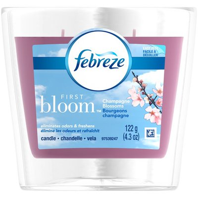 Febreze First Bloom Champagne Blossoms Candle