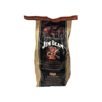 Jim Beam Oak Barrel Smoking Chips mixed w/ Best of the West Oak Lump Charcoal