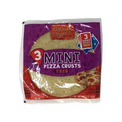 Mama Cozzi's Pizza Kitchen Mini Thin Pizza Crusts With Sauce