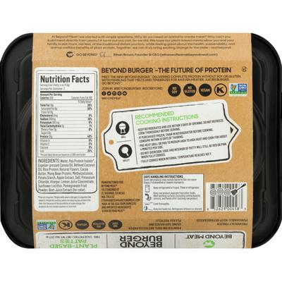 Beyond Meat Plant-Based Patties