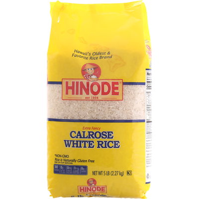 Hinode White Rice, Calrose, Extra Fancy