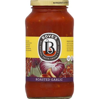 Bove's Pasta Sauce, Roasted Garlic