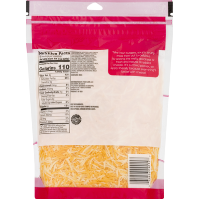 Food Lion Fancy Shredded Cheese, 4 Cheese Mexican Style Blend