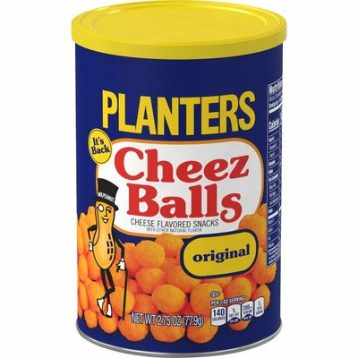 Planters Cheez Balls Cheese Flavored Snacks