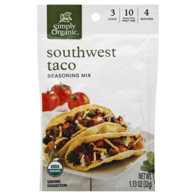 Simply Organic Simply Org Southwest Taco Mix
