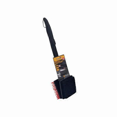 """Char-Broil 18"""" Black Cool Clean 2-in-1 Grill Brush"""