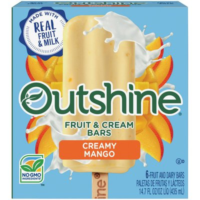 Outshine Creamy Mango Fruit & Cream Bars