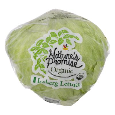 USDA Produce Organic Iceberg Lettuce