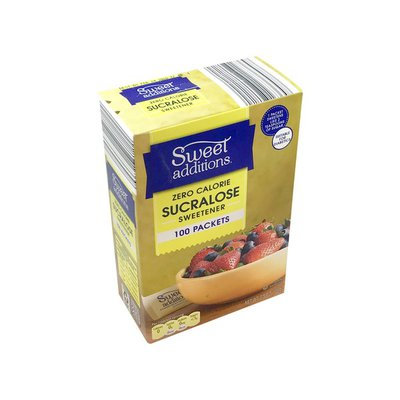 Sweet Additions Sucralose No Calorie Sweetener