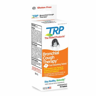 The Relief Products Bronchial Cough Therapy Fast Dissolving Tablets