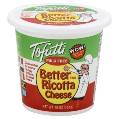 Tofutti Ricotta Cheese, Milk Free