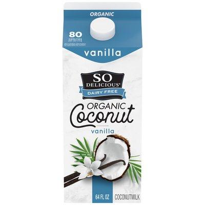 So Delicious Dairy Free UHT Vanilla Coconut Milk