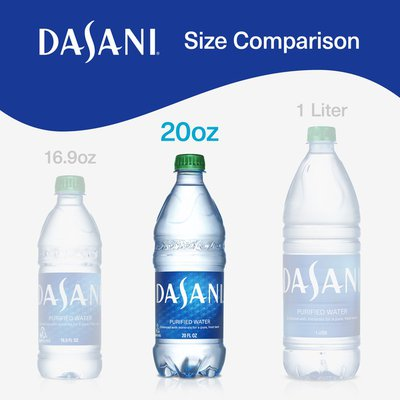 DASANI Purified Water Bottle Enhanced With Minerals
