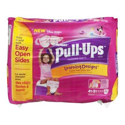 Huggies Pull-Ups Huggies Pull Ups Training Pants Disney Designs 4T-5T - 42 CT
