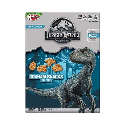 Keebler Jurassic World Graham Cracker Snacks Honey