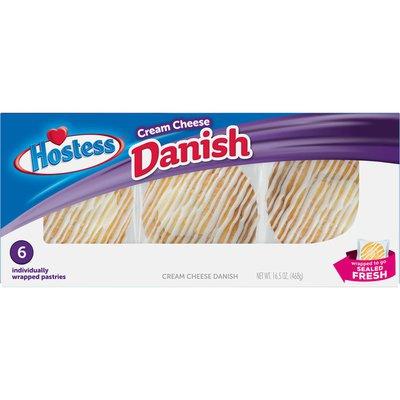 Hostess Cream Cheese Round Danish