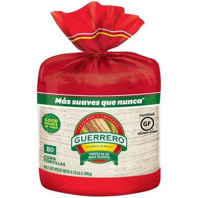 Guerrero White Corn/De Maiz Blanco Tortillas