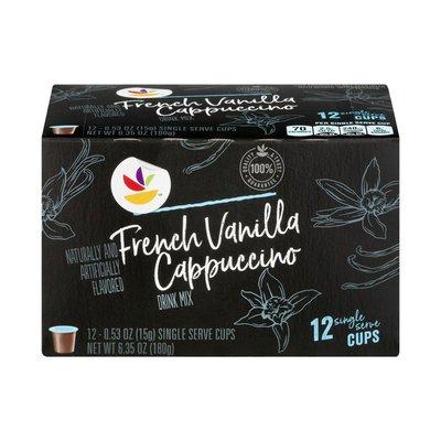 SB Drink Mix Single Serve Cups French Vanilla Cappuccino - 12 CT
