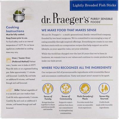 Dr. Praeger's Fish Sticks, Lightly Breaded