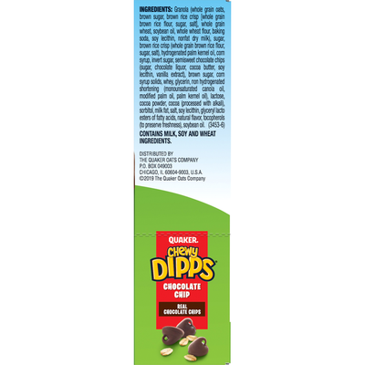 Quaker Chewy Dipps Chocolate Chip Granola Bar
