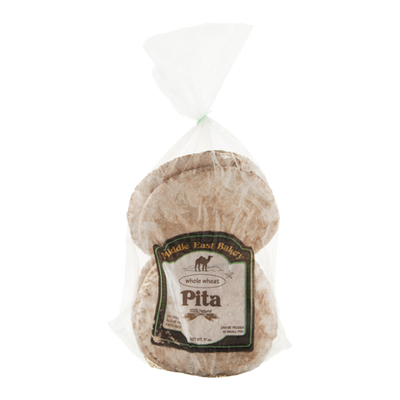 Middle East Bakery Pita Whole Wheat - 10 CT