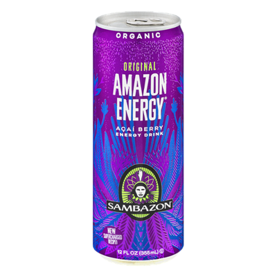 Sambazon Organic Original Amazon Energy Acai Berry Energy Drink