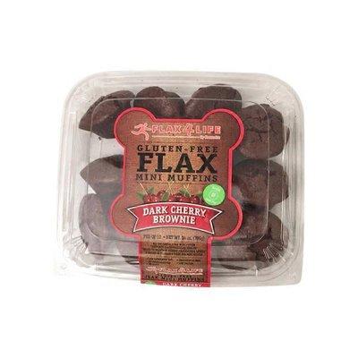 Flax 4 Life Dark Cherry Brownie Gluten-free Flax Mini Muffins