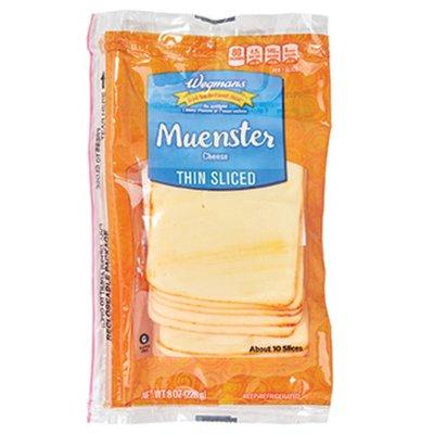 Wegmans Thin Sliced Muenster Cheese