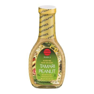 San-J Gluten Free Asian Dressing Tamari Peanut