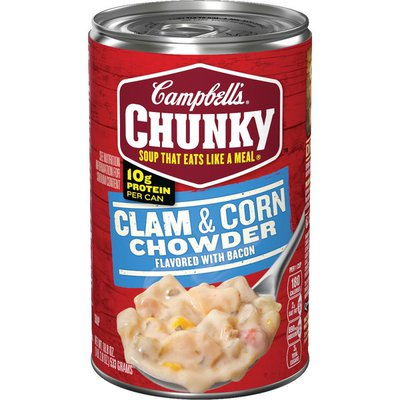 Campbell's® Clam & Corn Chowder with Bacon