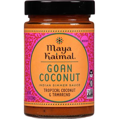 Maya Kaimal Indian Simmer Sauce, Goan Coconut, Medium